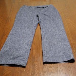 Ann Taylor Loft wool lined dress pant D126:5:519